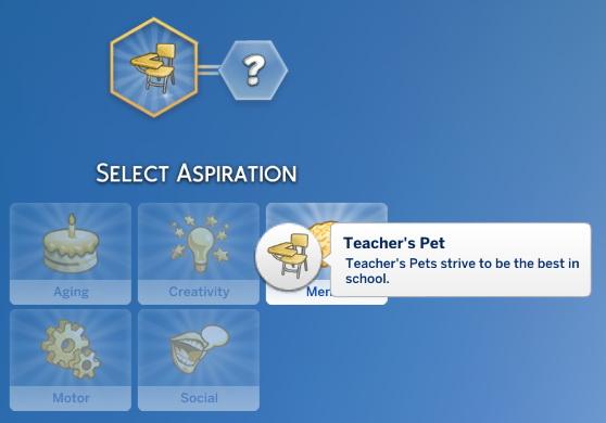 sims 4 aspiration mod